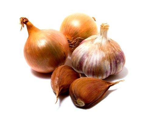 Категорично заборонено їсти цибулю, часник, редьку, гриби, горох