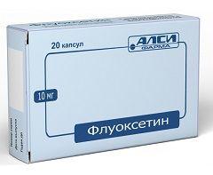 Флуоксетин - аналог Прозака