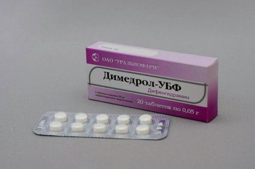 Димедрол для знеболювання