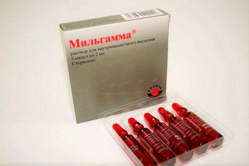 Склад препарату мільгамма і фармакологічна дія