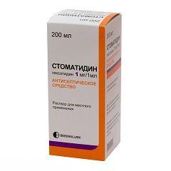 Стоматидин - препарат для лікування стоматиту