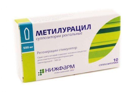 Лікування геморою свічками з метилурацилом