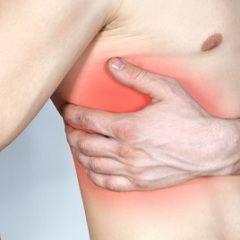 Хворобливість - основний симптом тріщини ребра