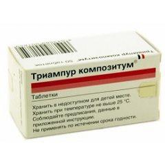 Діуретична засіб Тріампур композитум