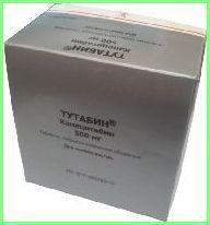 Тутабін - протипухлинний препарат