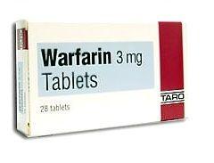 Таблетки Варфарин в дозуванні 3 мг