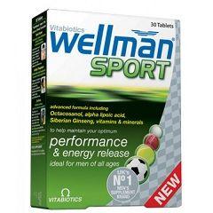 Вітаміни Велма Спорт в таблетках