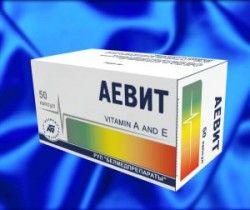 Вітаміни аевит від прищів: показання, застосування, побічні дії