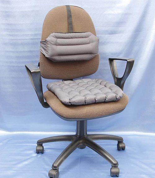 Вибір ортопедичної подушки для сидіння на стілець