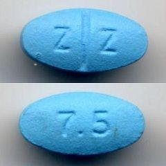 Таблетки зопіклон 7,5 мг